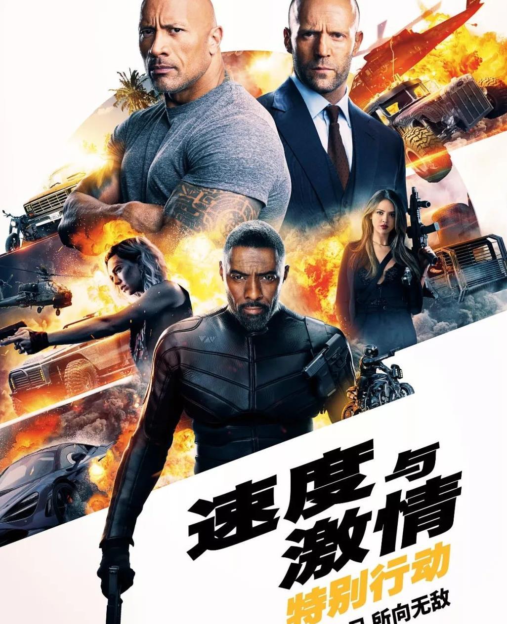 《速度与激情:特别行动》上映当日10部新片混战,周迅成最大对手