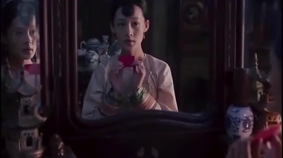 白鹿原知道晚上要见黑娃田小娥下狠功夫了打扮成这么美丽