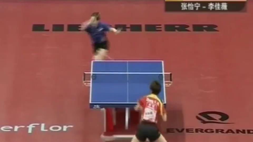 中国乒乓就服大魔王!张怡宁打服王楠,打爆冯天薇和征服李晓霞!