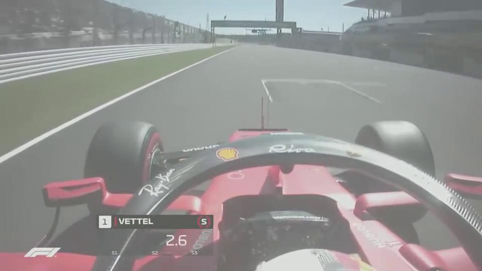维特尔日本大奖赛杆位圈车载画面!