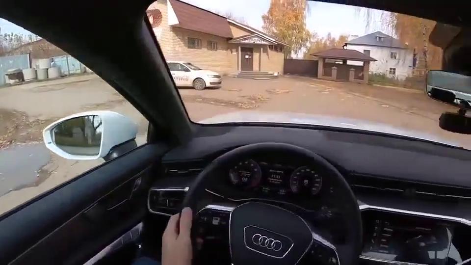视频:新款顶配奥迪A6实车展示