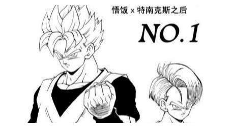 """龙珠:独臂""""孙悟饭""""外传,变成超级赛亚人二,大战人造人十八号"""