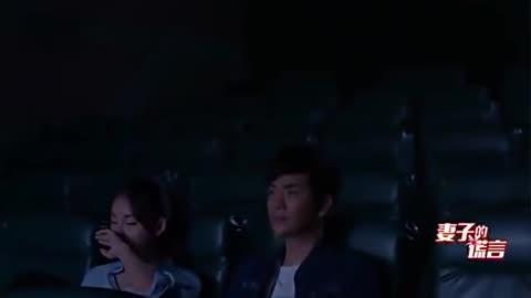 妻子的谎言:李夏曦与江一斌看电影,李夏曦怎么就睡着了!