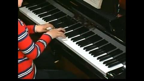 钢琴基础教程-小托卡塔 卡巴利夫斯基