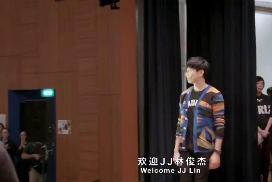 JJ林俊杰回母校发表感言啦,听着感触很多!