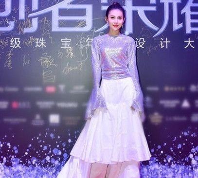 贾青2017芭莎珠宝极品珠宝夜宴,闪耀夺目如星光女神