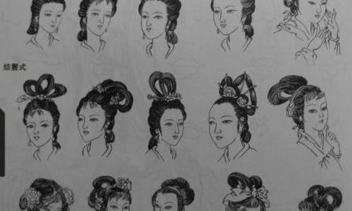 古代没有啫喱水,女子发型多变如何固定?老祖宗的方法受用终生