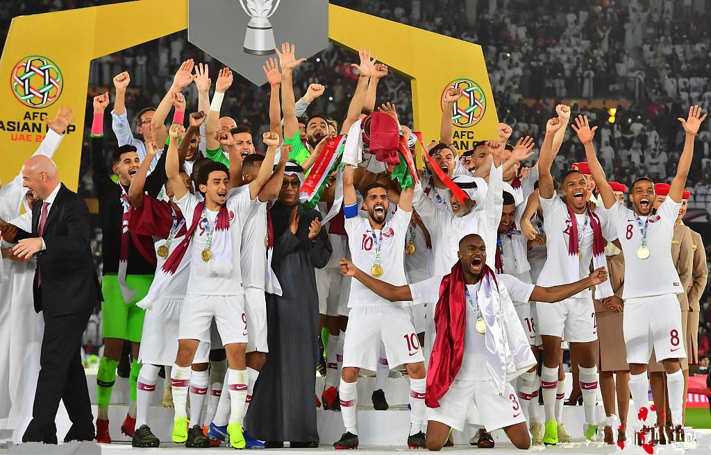 足球比分-卡塔尔3-1日本夺冠 阿里建功破纪录