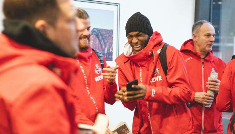 莫德斯特跟随科隆俱乐部前往西班牙冬训,莫德斯特看起来挺开心