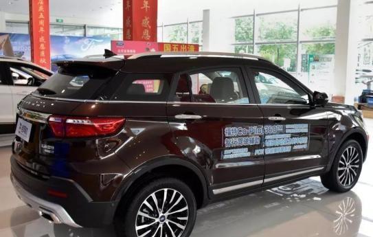 福特上新车,SUV15万起售,新增车型配置更全