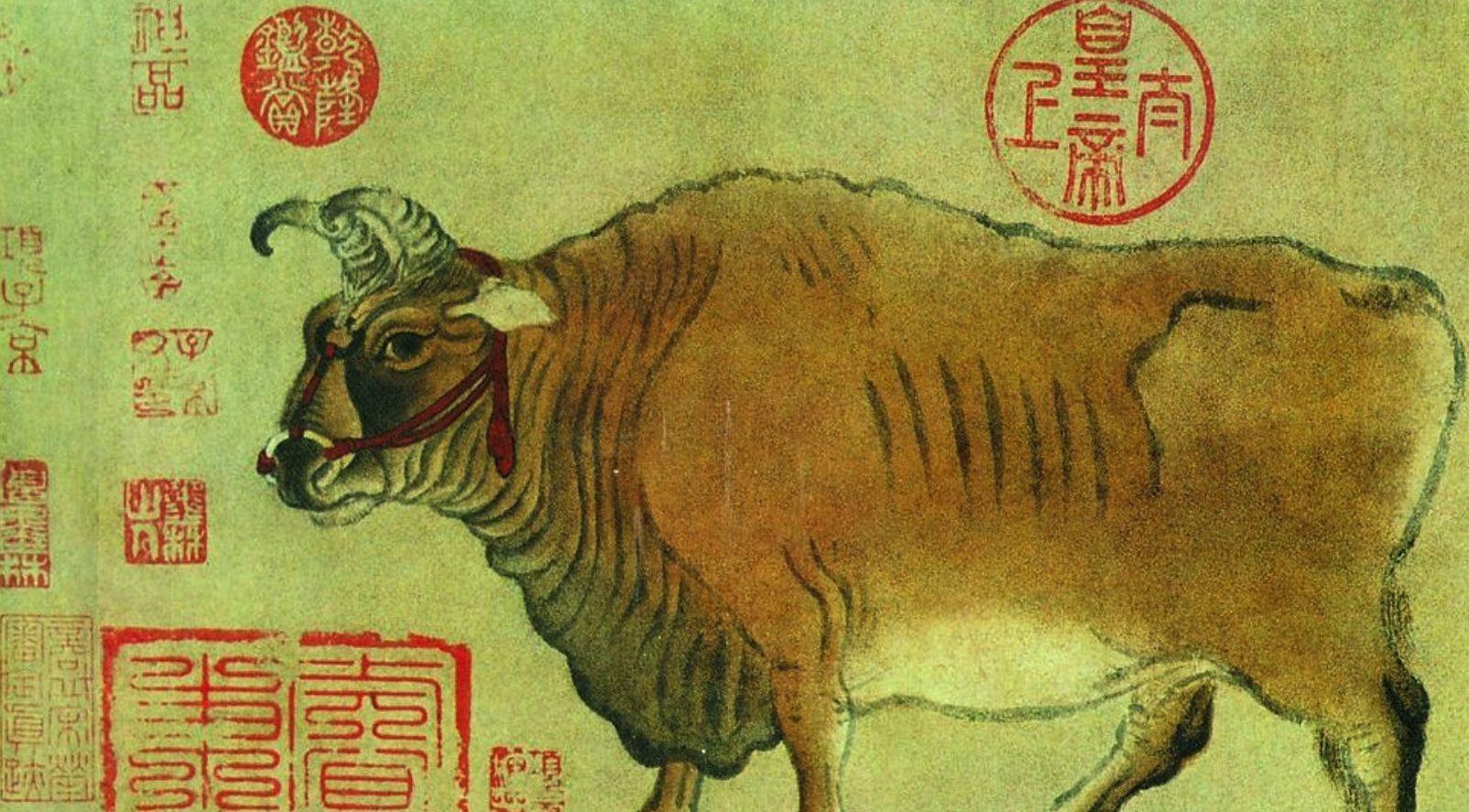 此画已有1200年历史,现存故宫博物馆,乾隆皇帝最爱!