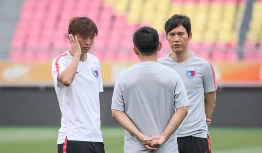 天津天海球员在廊坊训练,中超第19轮天津天海客场对阵华夏幸福