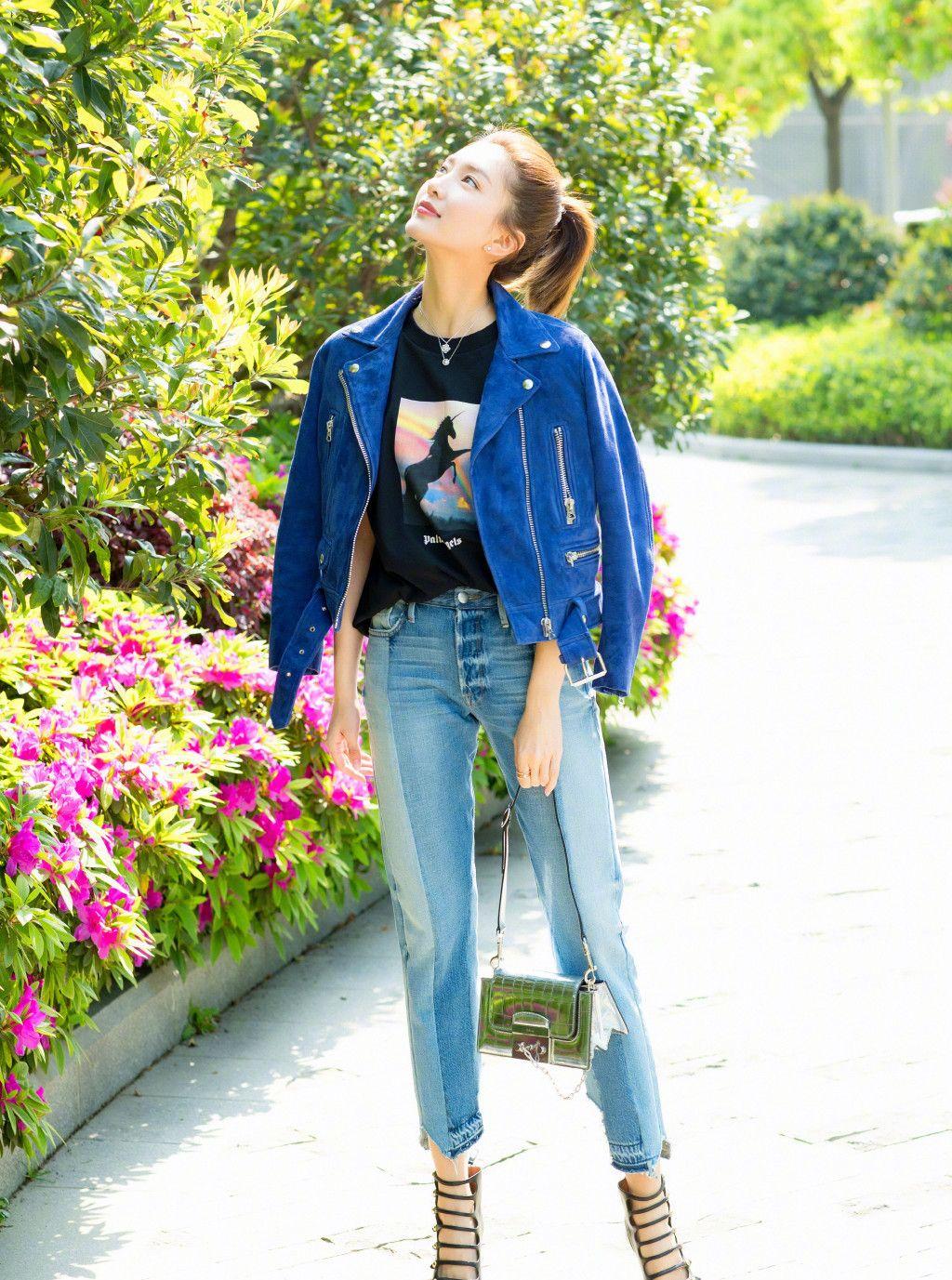 女神江疏影日常太会穿系列,绝对引领时尚潮流,轻松复制学起来!