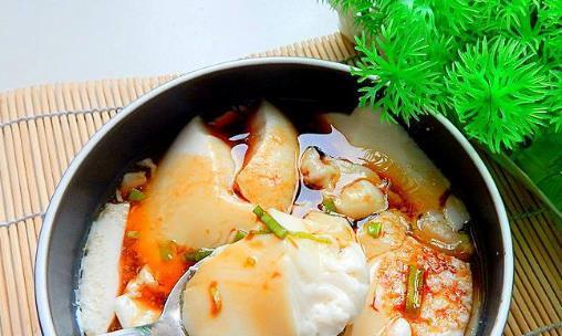 早餐要有营养,自制豆腐脑丝瓜炒虾仁,清淡有营养美味又健康