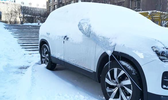 车上积雪不扫没关系,但这件事一定要做,别不小心被扣12分