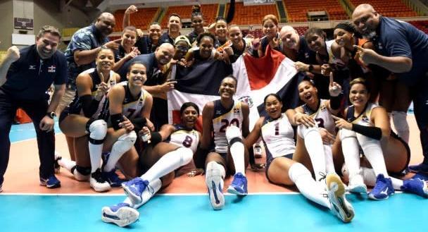 女排头条 多米尼加女排3:2击败美国赢得冠军 中北美洲锦标赛