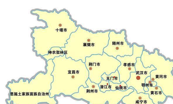 湖北省一个县, 名字倒过来正好是河北省的一个县