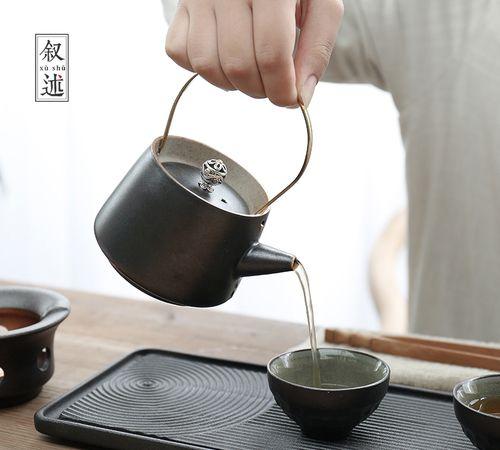 创意功夫茶具套装,不单有艺术美更实用,瞧瞧你有了吗