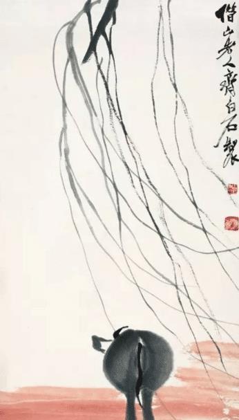 """齐白石75岁作品,有一明显""""错误"""",为何还成神作,放大后知道了"""