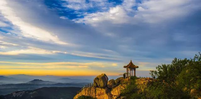 沂山和青州古城哪个好这次我选''鲁中仙山''