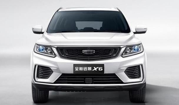 """不计成本造好车,""""7万级超值精品SUV""""全新远景X6官图曝光"""