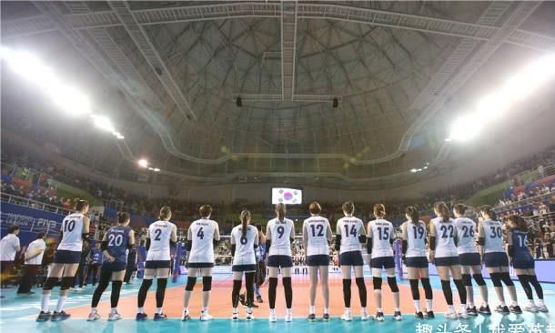女排世联赛总决赛6强出炉!日本0-3后无缘,第3局一度被韩国虐2-8