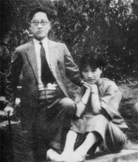 6张陆小曼和徐志摩的老照片,图2是两人婚纱照,图6她笑得好甜