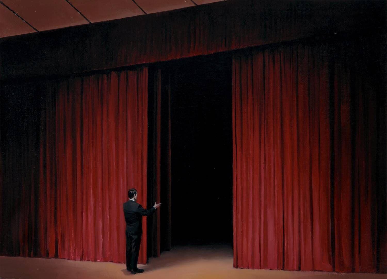 中央美术学院版画系毕业生郭警的油画作品欣赏