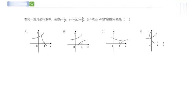 2019年浙江高考数学真题函数图像分析