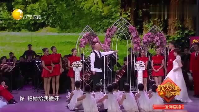 小品《梦想协奏曲》郭冬临和黄杨表演春夏秋冬,郎朗钢琴伴奏
