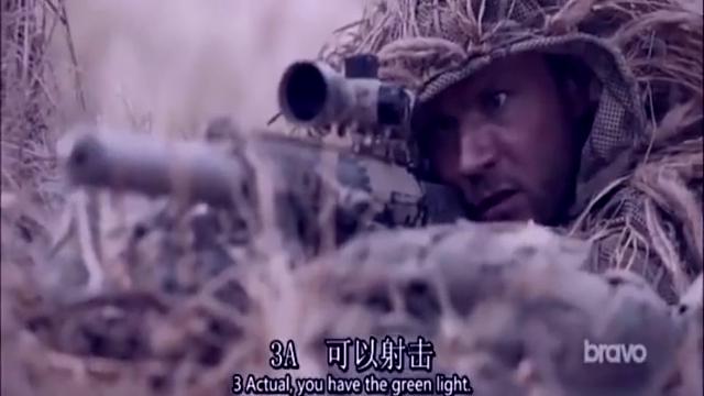 口碑爆裂的动作大片,一支M110狙击枪,虐杀敌人无数,燃爆了