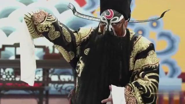 秦腔电影《包青天之铡美案》选段,叫王朝与爷把红绫取