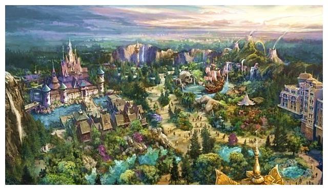有声听读新闻:东京迪士尼海洋扩建,冰雪奇缘等三大分区将上线