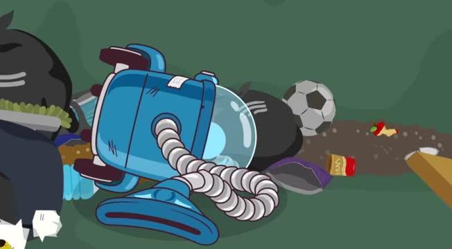 汤姆猫英雄小队:吸尘器罢工了被丢弃了,为什么呢?