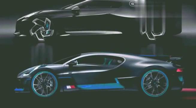 布加迪两款新车对比你更喜欢哪个一台2000万,一台1.26亿