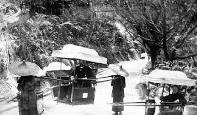 清朝老照片:图2是清朝曾经的繁荣时刻,图4是满族格格在逛庙会!