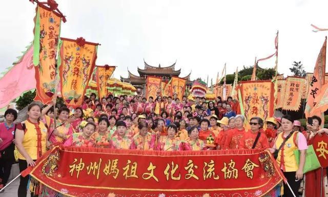 神州媽祖文化交流协会参加澳门妈祖文化旅游节弘扬妈祖文化