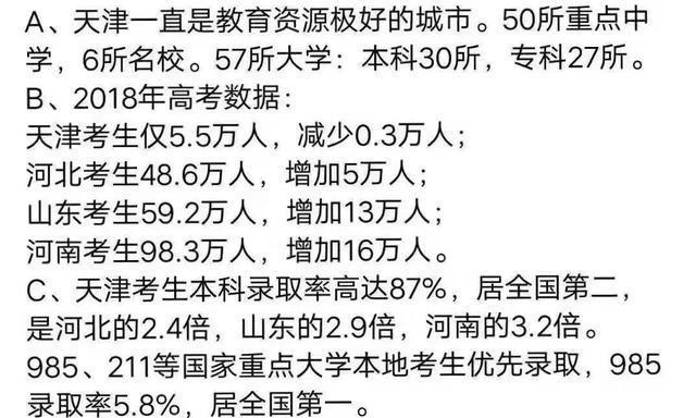 天津升学率