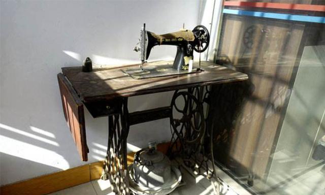 没想到缝纫机也能成为艺术!想营造复古情怀感还得靠它