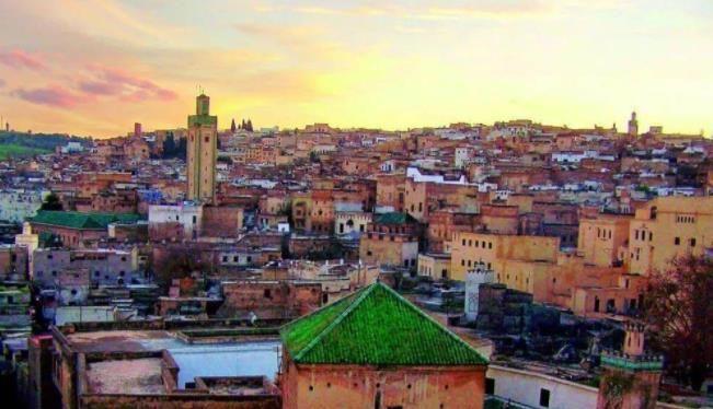 蓝色的舍夫沙万,红色的马拉喀什,摩洛哥真是色彩丰富的国度呀