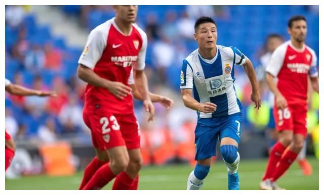 前场发动机,武磊三度造威胁,西班牙人0:2塞维利亚!