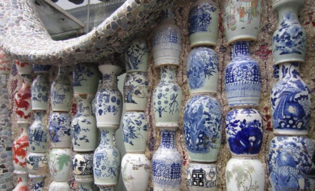 国内最值钱的房子,由7亿块古瓷片建成,明清瓷器直接镶在外墙上