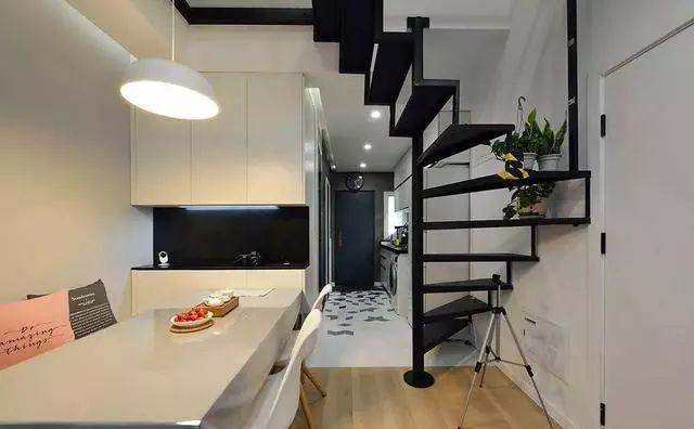 48㎡复式老房经改造后一室竟变三室,顶层阁楼设计太给力了