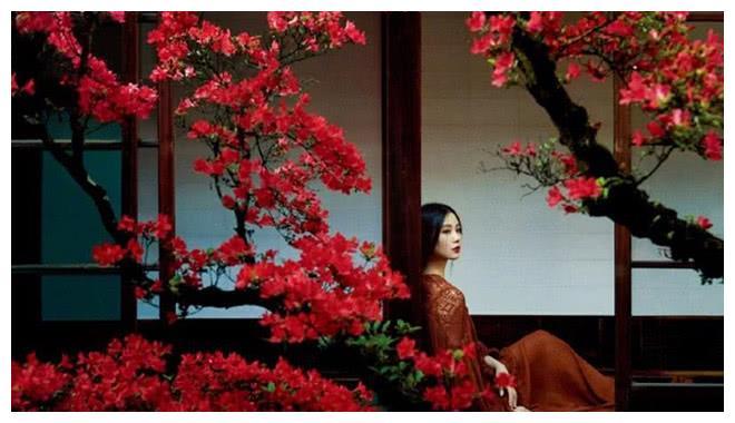 刘诗诗拍的中国风孕妇照美翻,看不出孕肚,吴奇隆有福气