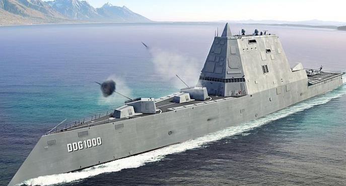 超越当代!美国海军朱姆沃尔特级驱逐舰
