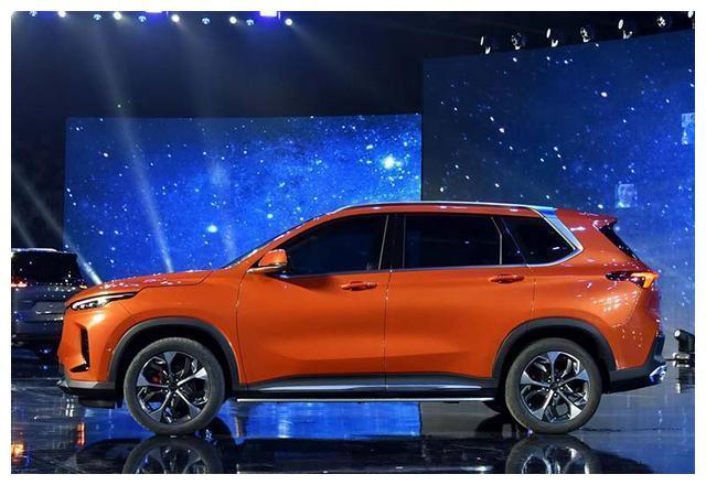上汽大通中型SUV D60正式迎来上市,辨识度非常高