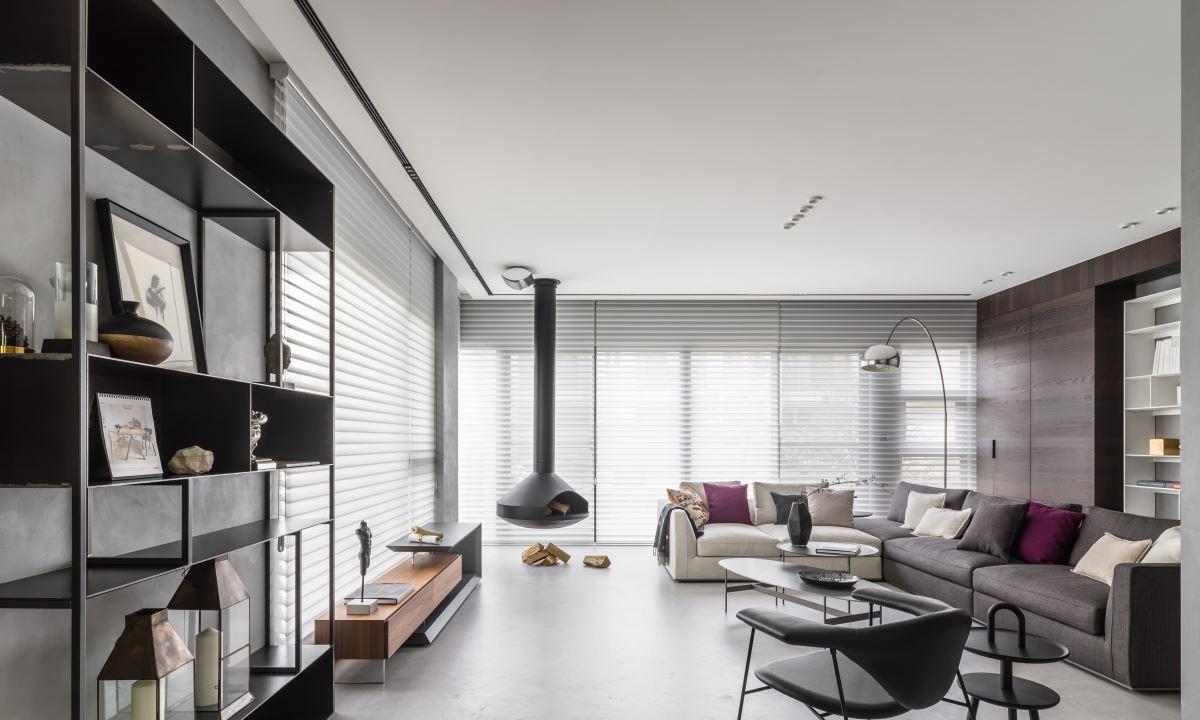 300平联排别墅装修实景图丨用设计将艺术和生活交融到一起