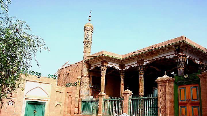 香妃墓,一处典型伊斯兰古建筑群