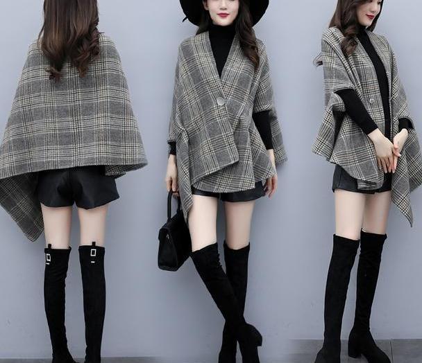 小个子短款毛呢外套,拯救矮个女秋冬穿搭,甜美减龄逆袭大长腿