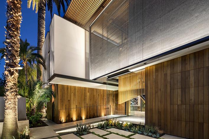 木材设计:被木头装修的别墅,一个用中堂占领的带设计别墅别墅图片